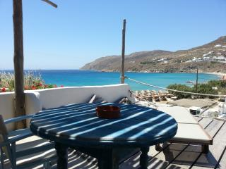 STUDIO FOR 2 BY THE BEACH WITH SEA VIEW - Mykonos Town vacation rentals