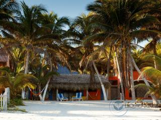 "Beachfront. ""House chosen by turtles"" - El Cuyo vacation rentals"