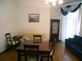 3 room de luxe apartment with jakuzzi in Kiev heart - Kiev vacation rentals