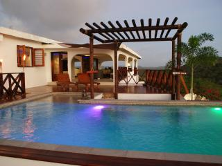 Modern villa with spectacular views over the Caribbean Sea - Curacao vacation rentals