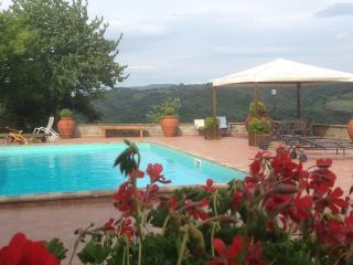 """Todi/Collazzone agriturismo """"RIPA del PAVONE - Collazzone vacation rentals"""