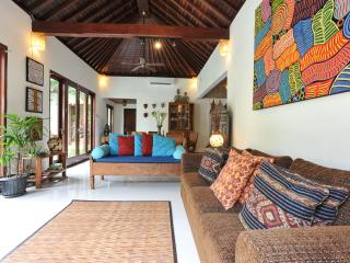 QUIET, PEACEFUL 3 BDRMS, POOL, 250 MTRS FROM BEACH - Sanur vacation rentals