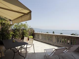 Renovated apartment private terrace wide lake view - Gardone Riviera vacation rentals