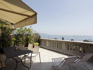 Alloro apartment private terrace wide lake view - Gardone Riviera vacation rentals
