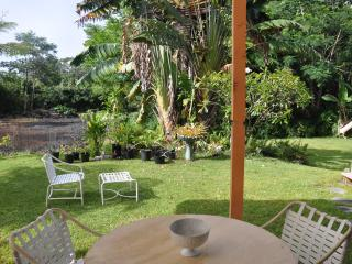 Private 1 Bedroom with Living and Kitchenette overlooking Plumeria Gard - Pahoa vacation rentals