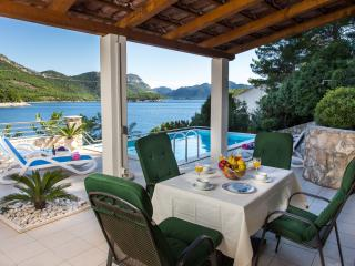 Villa Silencia - Two-Bedroom Villa with Private Pool and Sea View - Janjina vacation rentals