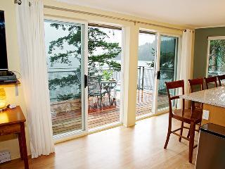 Beach~Waterfront ~NEW seaside decks~Kitchen~Sunny - Bowen Island vacation rentals