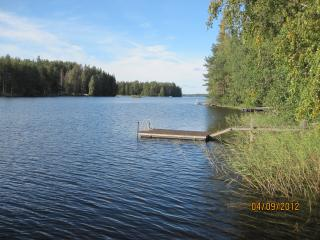Lakeside property in Finland's  Lake District - Mantyharju vacation rentals