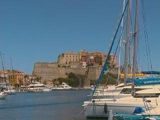 appartement Calvi , 2 pièces, vue mer - Corsica vacation rentals