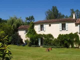 Mill Cottage, riverside garden with fishing, beautiful area, Mezin, Gascony, SW. - Mezin vacation rentals