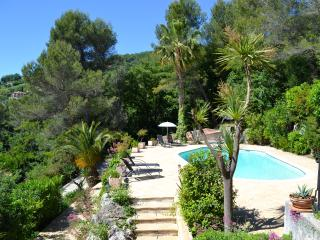 Minoustan: villa with views minutes from Nice - Gattieres vacation rentals