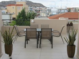 2 bedroom penthouse with large patio and balcony - Oroklini vacation rentals
