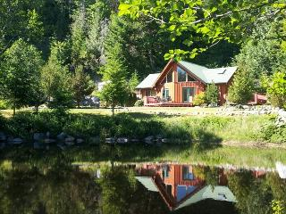 Private, Pet Friendly Cottage on Pond with Hot Tub - Garden Bay vacation rentals