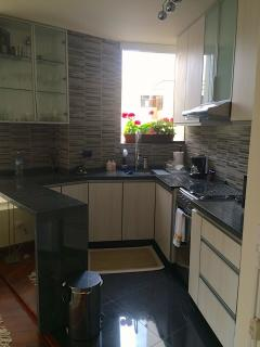 Kitchen - Newly remodeled 1/1 apartment across to Larcomar - Lima - rentals