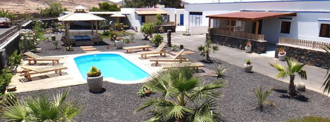 house 18 pers wifi parking pool bbq - Lajares vacation rentals