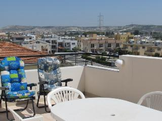 Spacious 3 bedroom penthouse apartment - Oroklini vacation rentals