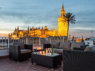 4 bedroom attic with rooftop terrace with views - Seville vacation rentals