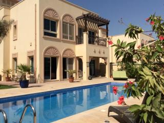 Dubai villa with large private pool and garden - Dubai vacation rentals