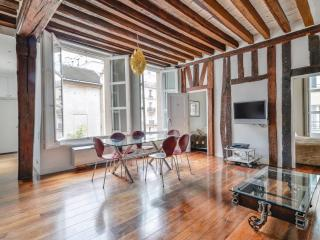 Marais Vosges 2BR / 2BA Luxury with A/C: Sleeps 6. - Chessy vacation rentals
