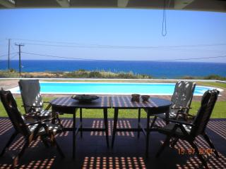 CRISTELIA, LUXURY SEA FRONT & POOL VILLA - Lachania vacation rentals