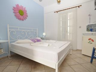 Manos Room for 2 only 1oo meters from the beach - Megas Gialos vacation rentals