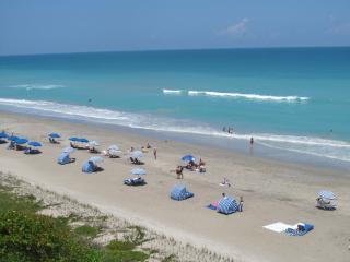 Stunning beachfront condo, corner unit - Hutchinson Island vacation rentals