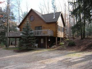 Beautiful Log Home Near Lake Michigan - Onekama vacation rentals