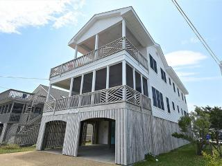 Ocean view 7 bedroom home with large decks and porch! - Delaware vacation rentals