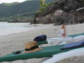 Beachfront Villa on 1 of Seychelles Best beaches - Anse Forbans vacation rentals