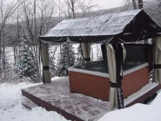 Nice log house with hot tub - Sainte-Adele vacation rentals