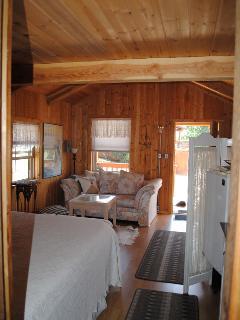 """Wilderness Spirit Cabins LLC- the """"Wolf Den"""" - Corvallis vacation rentals"""