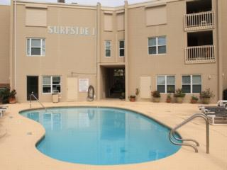 Surfside I 200 casual corner condo, courtyard pool - South Padre Island vacation rentals