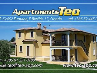 Teo apartments - Funtana vacation rentals