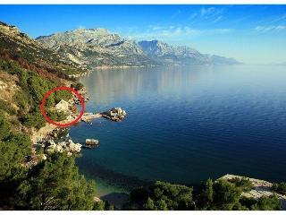 Beachfront apartment Kiko in Dalmatia - Split vacation rentals