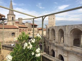 Duplex de charme, terrasse, vue sur les arenes - Arles vacation rentals