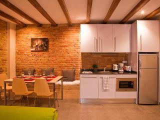Art Gallery patio apartment - Barcelona vacation rentals
