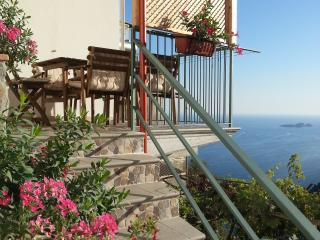 Beautiful house with parking space and seaview!! - Montepertuso vacation rentals