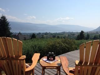 The Viewpoint Suite-Sweeping Orchard and Lake View - Summerland vacation rentals