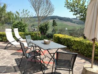 LA MEZZANA APPARTMENT WITH TERRACE AND SHARED POOL - Montespertoli vacation rentals