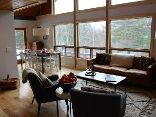 Two Creek Hill Rental Chalet- 4BR, 3 Acres, Hot Tub, Privacy, 6 Minutes From Stowe - Moretown vacation rentals