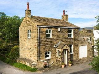 HOLME HOUSE COTTAGE, 17th century, stone-built, woodburner, parking, garden, in - Laycock vacation rentals