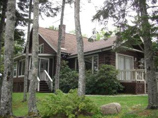 Oceanfront Schoodic Peninsula Log Home - 3 Bedrooms - Gouldsboro vacation rentals