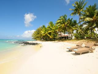 Villa Eva at mostly private beach next to golf - Belle Mare vacation rentals