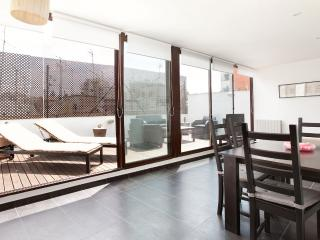 Awesome 2 bed penthouse with private terrace sunny - Barcelona vacation rentals
