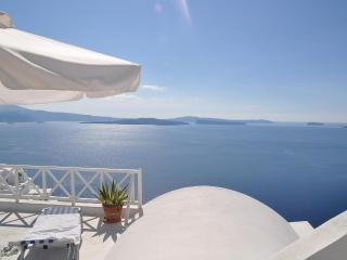 Magic view of the Caldera from Thea Studios - Oia vacation rentals