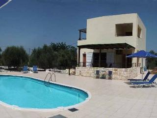 Villa Angelos with private gated pool - Almyrida vacation rentals