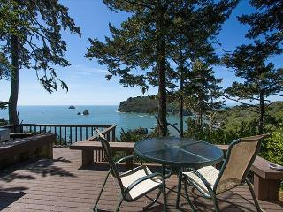 Sea Cliff~ Romantic, Private Retreat Perched Above the Sea w/ Sunroom & Deck - Trinidad vacation rentals