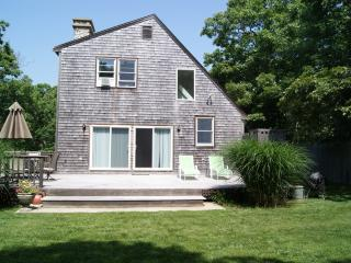 RIORE - Close to Edgartown Center and Beaches,  Bike Paths 2/10 mile from house, Large and Private Deck, WiFi, AC in Bedrooms - Edgartown vacation rentals