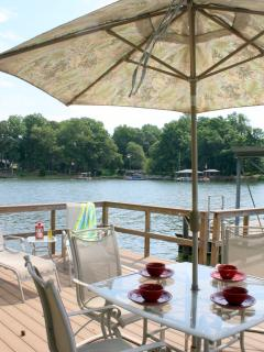 Awesome Lake Cottage Dock, Firepit, Boat Dock! - Lake Norman vacation rentals