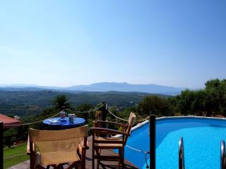 Villa with private pool and amazing sea view,3bedrooms,wifi,BBQ - Chania Prefecture vacation rentals